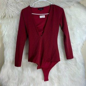 Olivaceous NWT Wine Colored One Piece Small Leotar